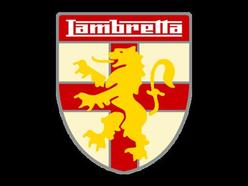 Lambretta logo shield yellow lion