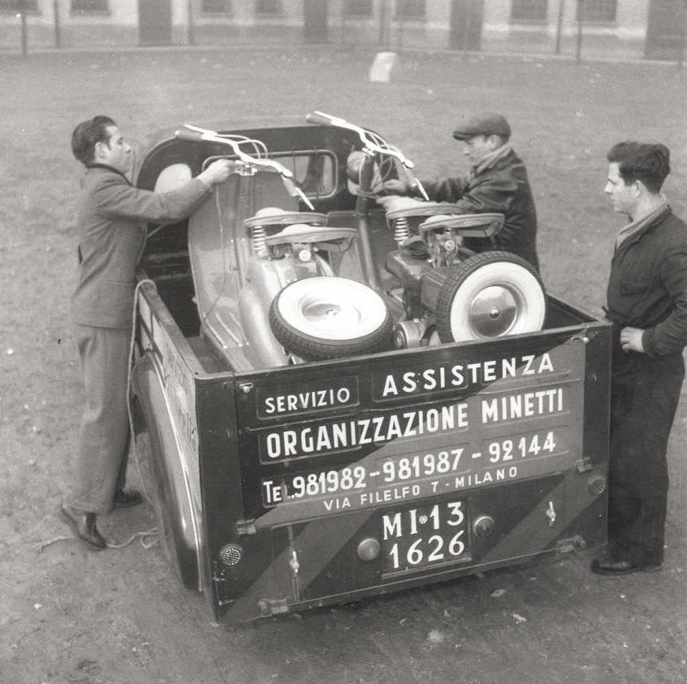 1949 Concessionaire Minetti in Milan 3