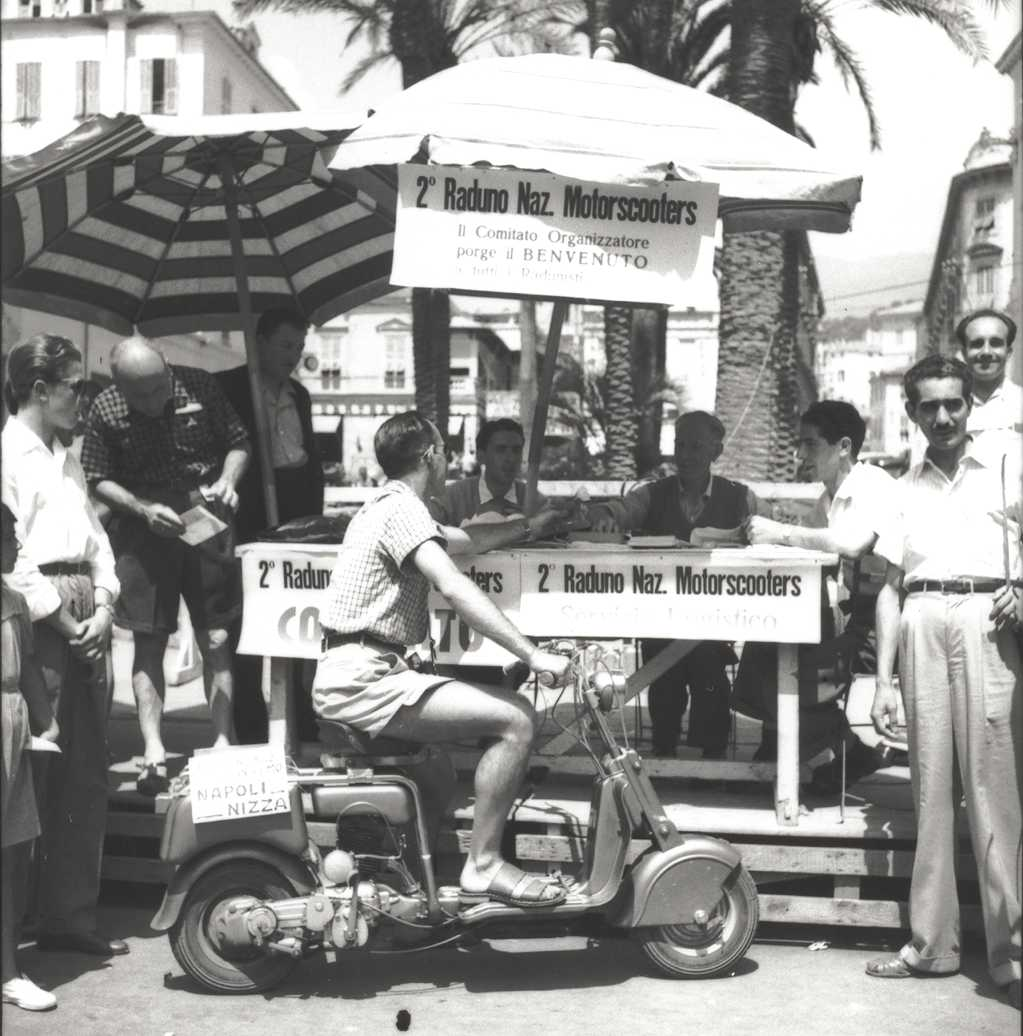 1949 II International scooter gathering in Sanremo a