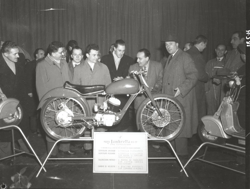 1949 Milan exhibition Lambretta 125 for competition 0012