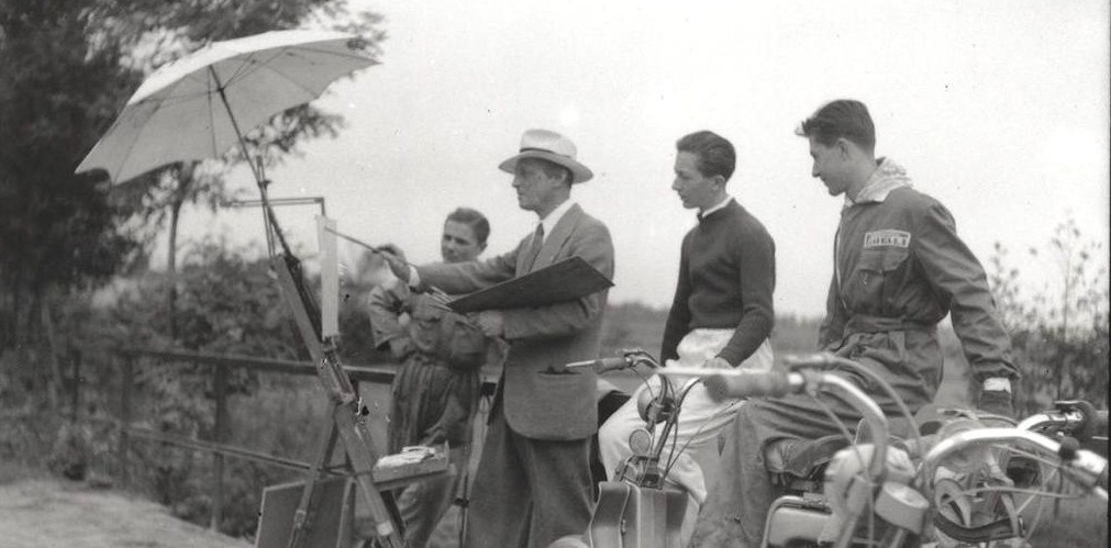 1949 Race painters and Lambretta-0003