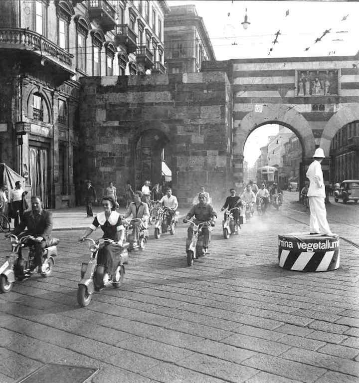 1949_First Swiss Lambretta rally in Milan_4