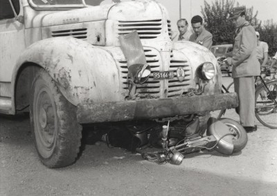 1950_A Dodge truck runs over a Lambretta-0003