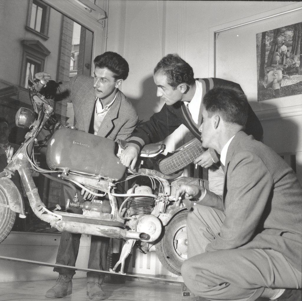 1951_Presentation of the Lambretta 125C-0003