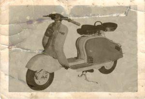 1951 Lambretta scooter Derviata D-LD