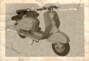 1951 Lambretta scooter MK LD