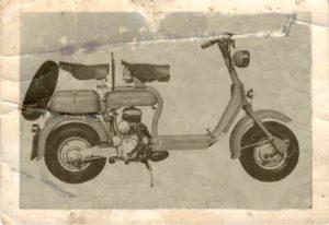 1951 Lambretta scooter MK D