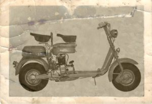 1953 Lambretta scooter E 125