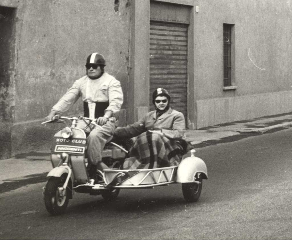 1954 Lambretta 125D with sidecar