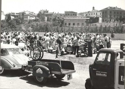 1958_Lambretta meeting in Lodi in Lombardy 1