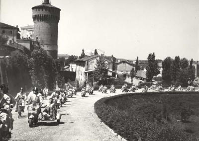 1958_Lambretta meeting in Lodi in Lombardy 2