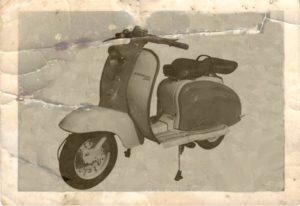 1958 Lambretta scooter Series 1