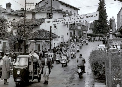1960 National Narcissus Lambretta motoclub meeting in Lombardy1