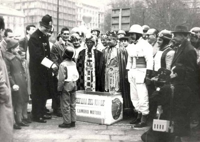 1960_ Epiphany day (the three kings) in Milan_3