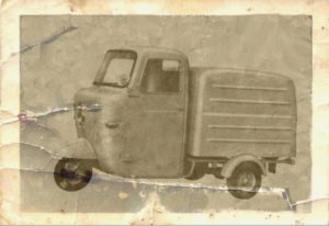 1960 Fli series 1 752 car old photo