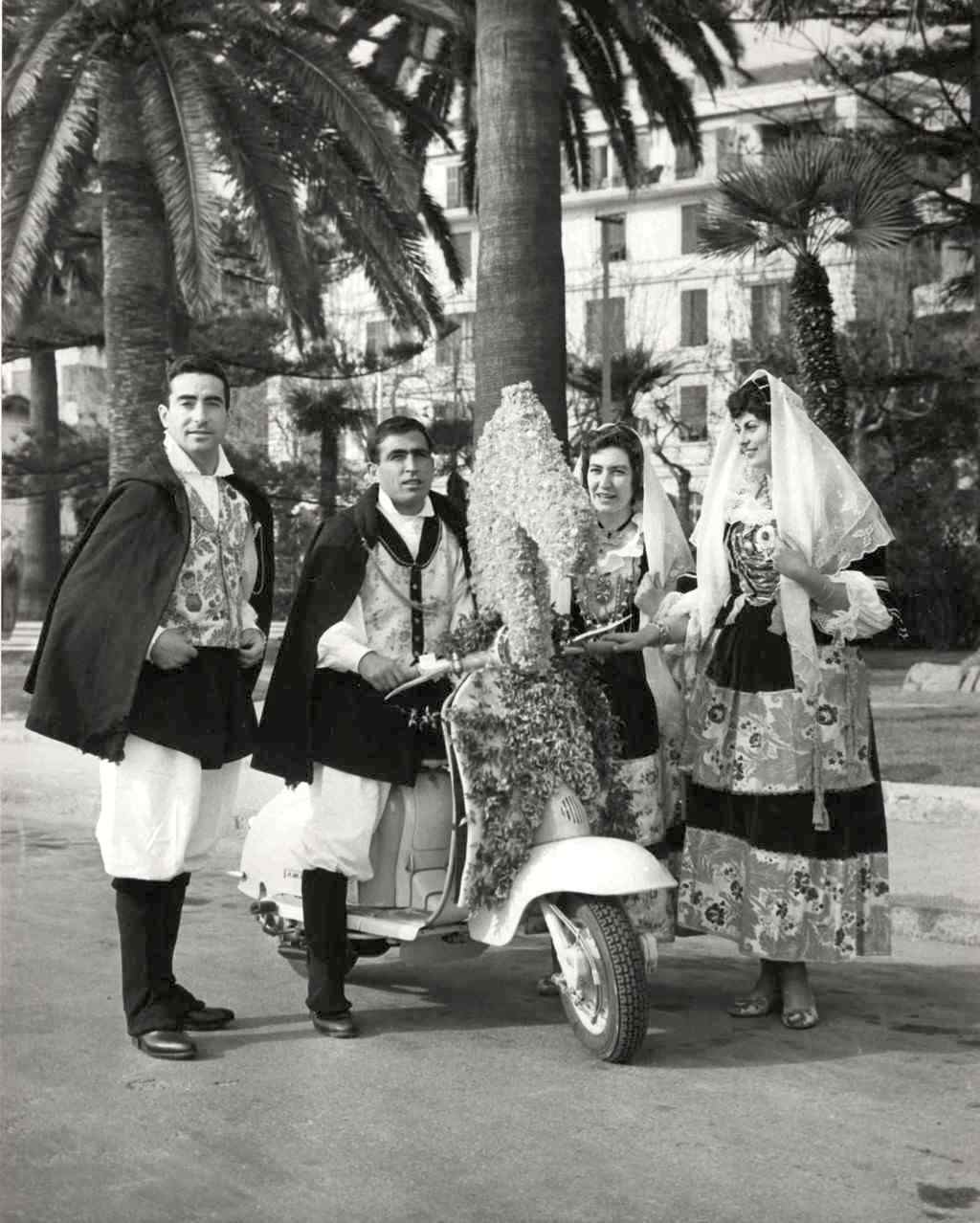 1961_Europe flower parade in Sanremo_1