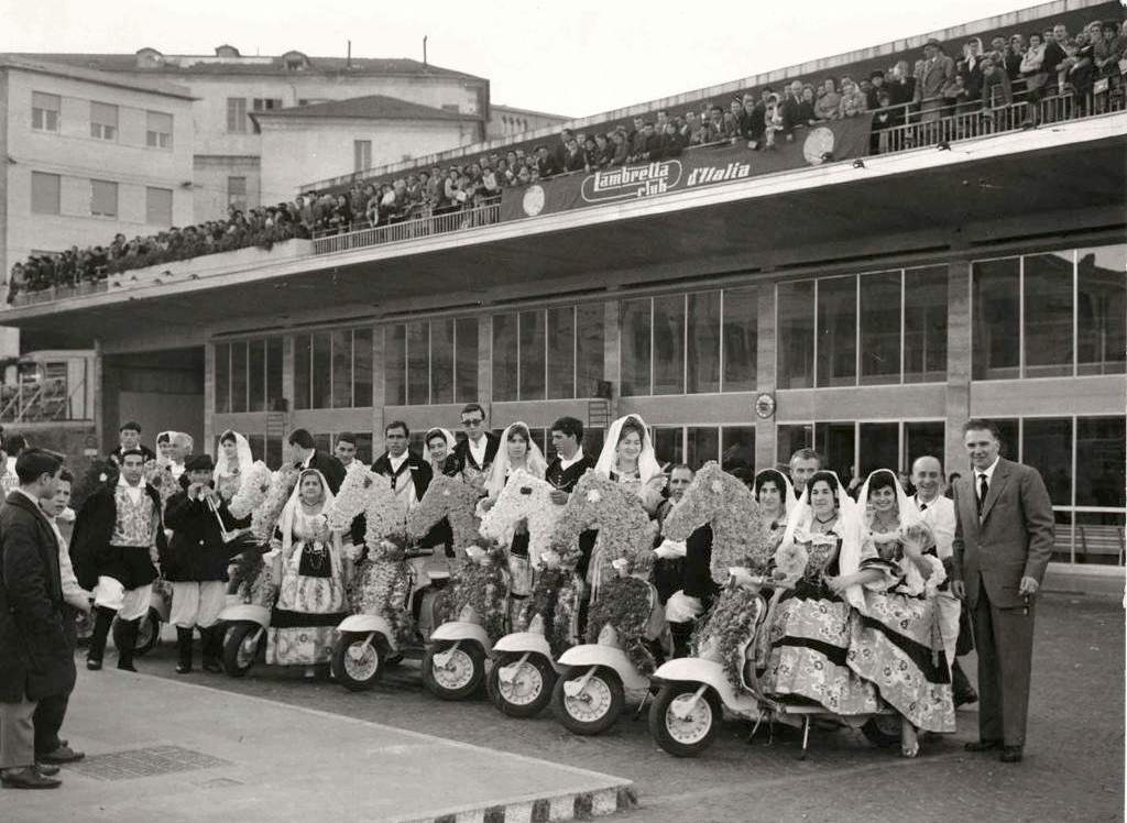 1961_Europe flower parade in Sanremo_2