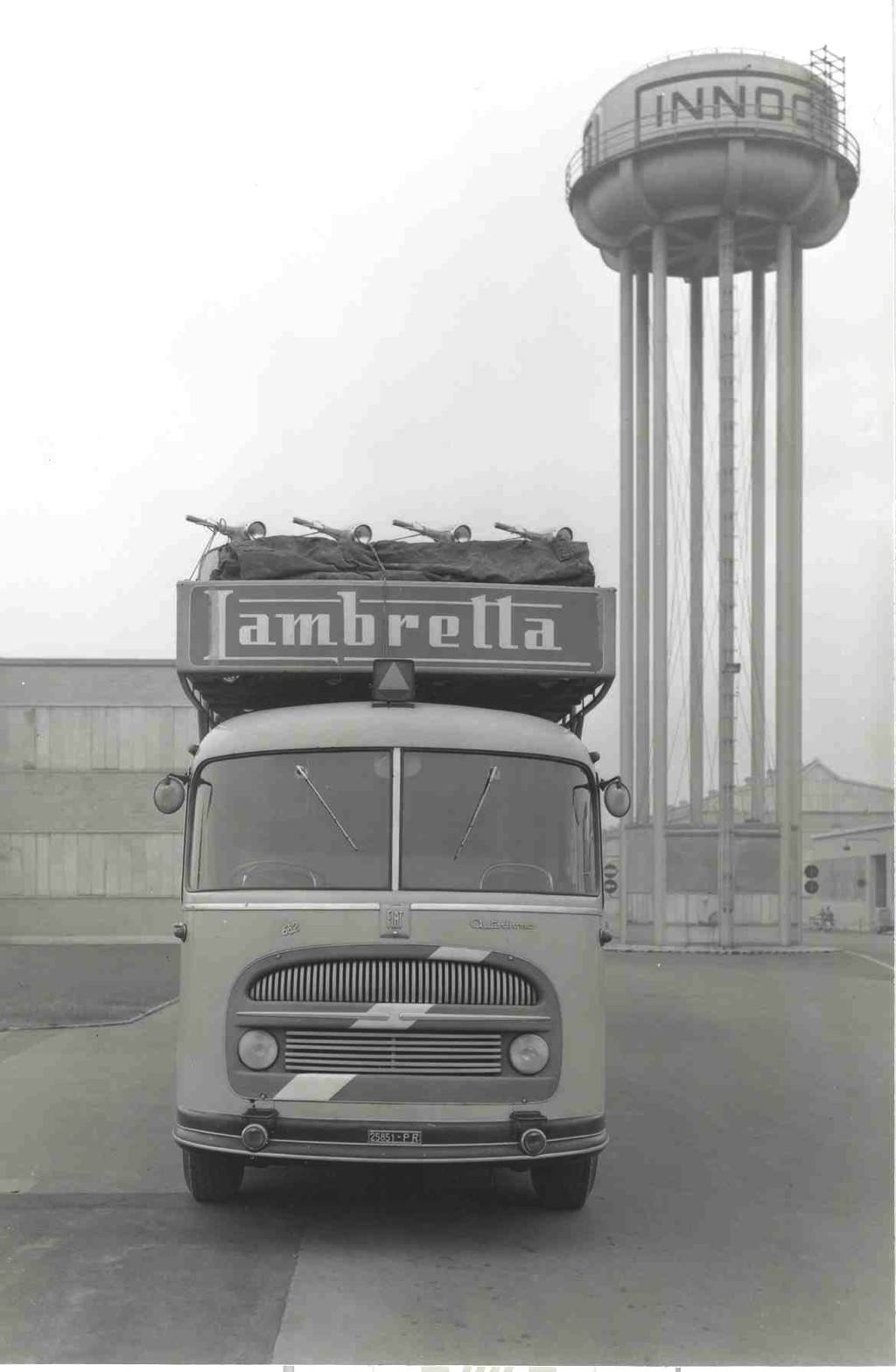 1961_Speacial transport truck for Lambrettas