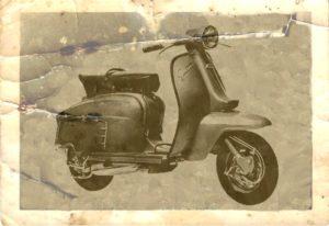 1965 Lambretta scooter LI SPECIAL