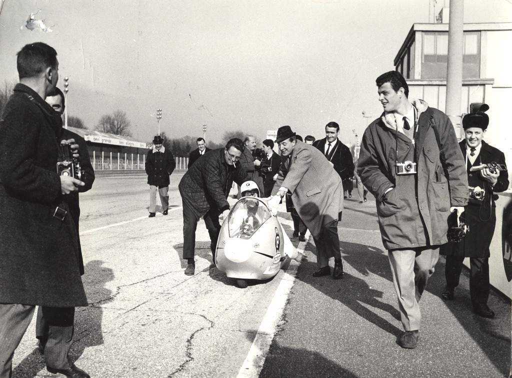 1965_Marlene Parker_record test at Monza_2