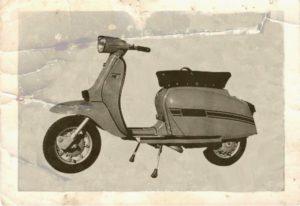 1969 Lambretta scooter Grand Prix DL