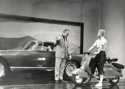 James Cagney with the Lambretta 150LD USA2