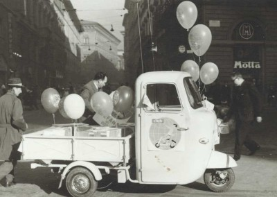Three wheeler Lambretta 175 FLI in Milano