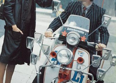 Phil Daniel in a still from the film Quadrophenia United Kingdom 1979 by Levis
