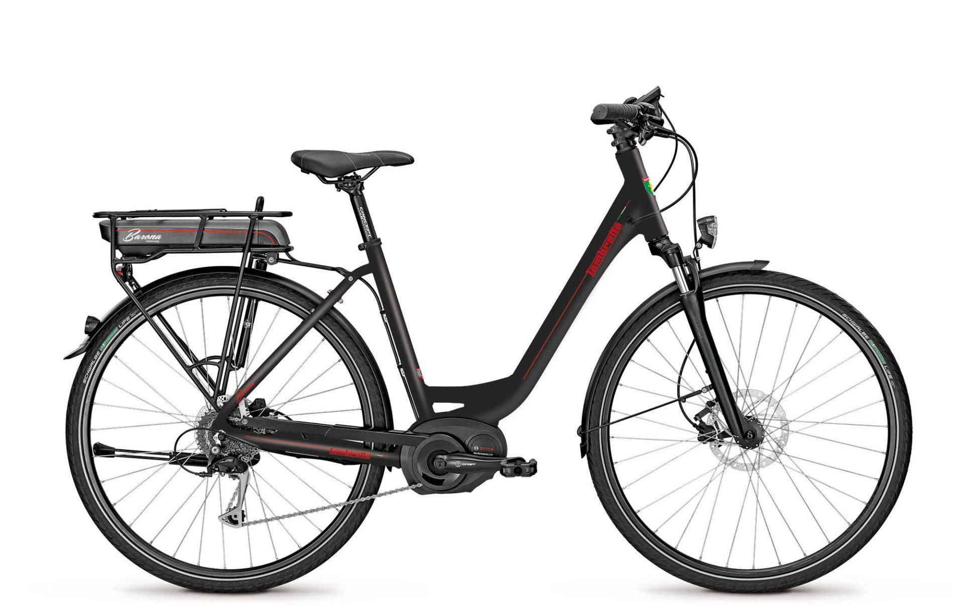Lambretta e-bike Barona black