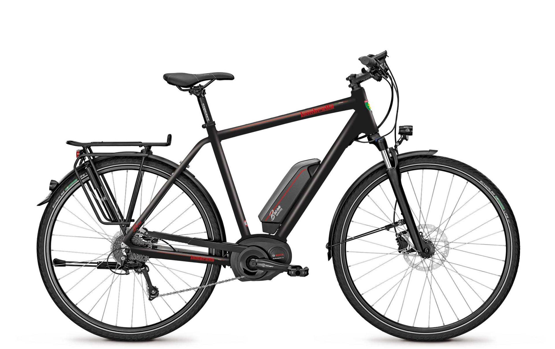 Lambretta e-bike Brera black