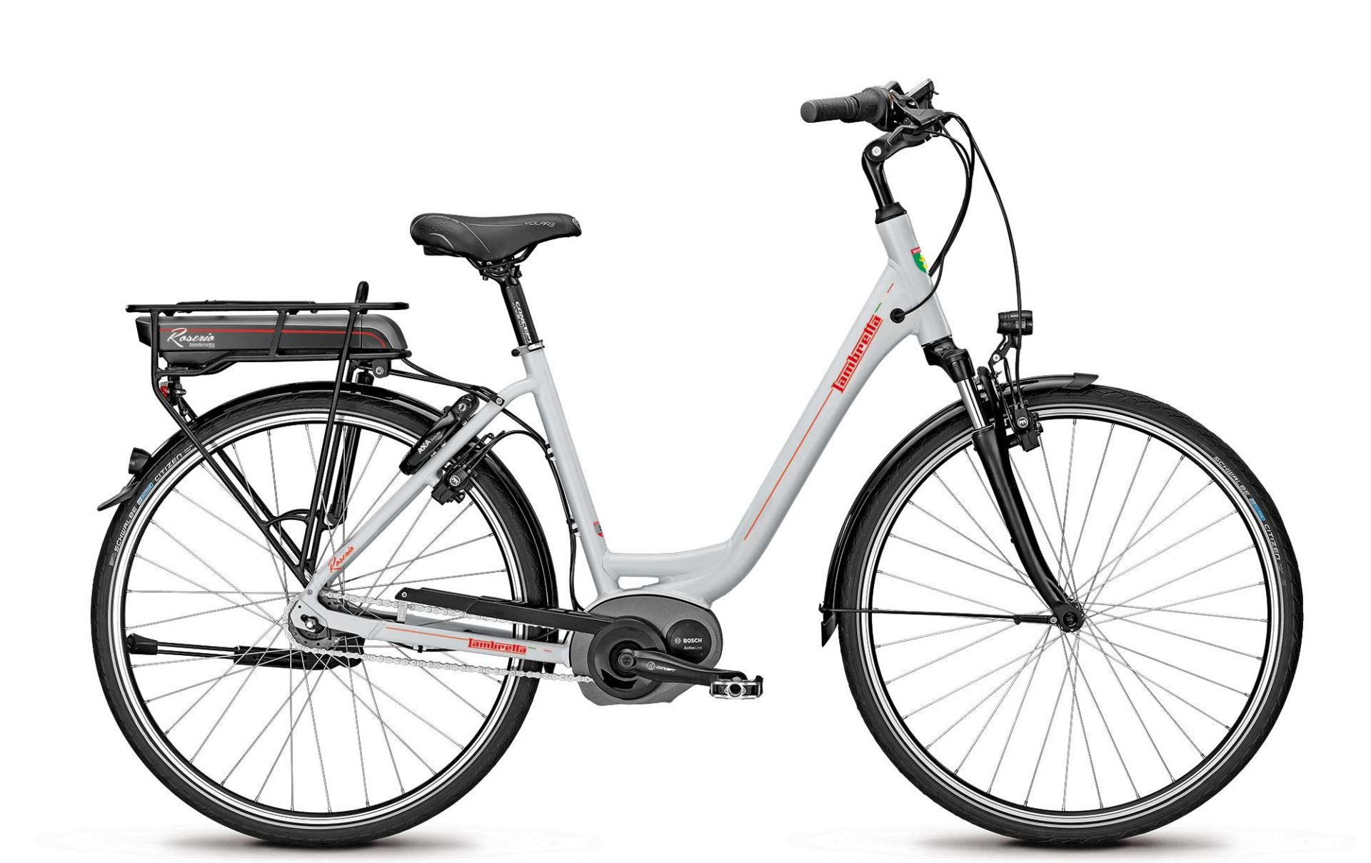 Lambretta e-bike Roserio white