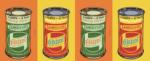 Four Lambretta morot oil Castrol tins