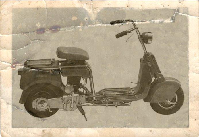 1948 Lambretta scooter M (A) 125