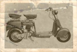 1948 Lambretta scooter 125 B