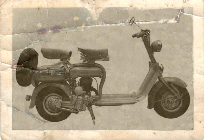 1950 Lambretta scooter 125 C