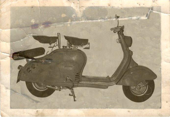 1950 Lambretta scooter LC 125
