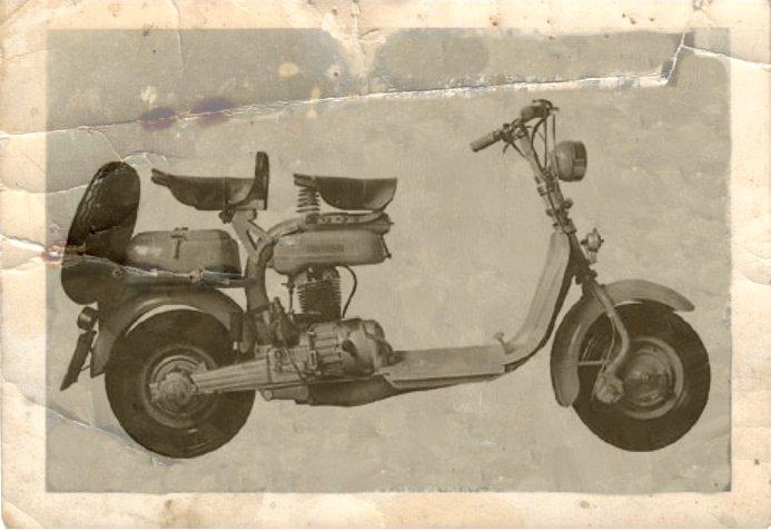 1954 Lambretta scooter F 125