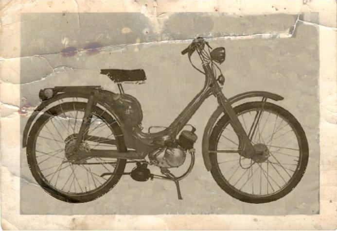 1955 Lambretta scooter 48 Mopes