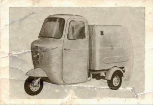 1959 Fli series 1 175 car old photo
