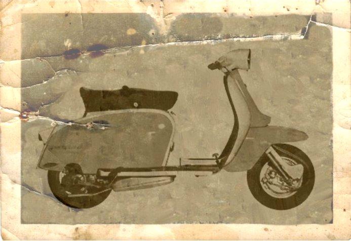 1962 Lambretta scooter Series 3 TV