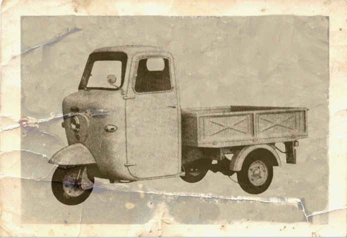 1965 Lambro 450 car old photo