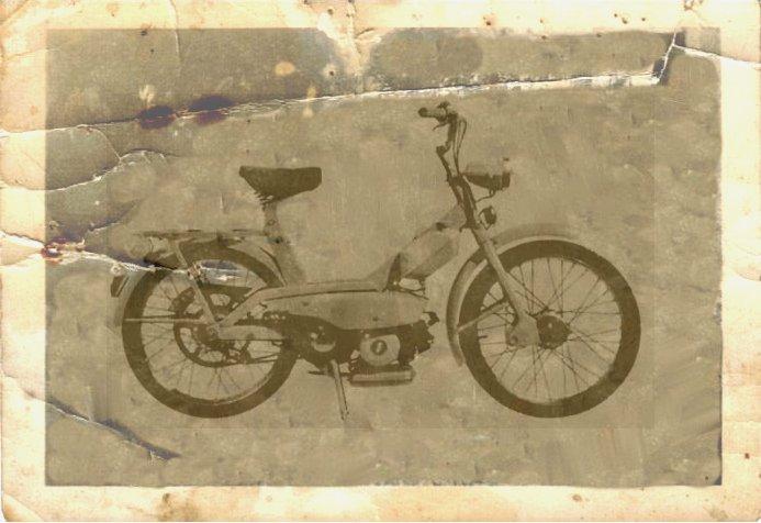 1966 Lambretta scooter Lambrettino