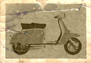 1962 Lambretta scooter Series 3 TV