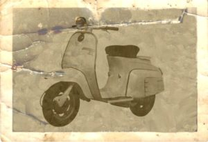 1964 Lambretta scooter j s dl 50