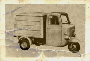 1967 Lambretta 500L car old photo