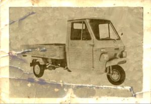 1969 Lambretta 550V car old photo