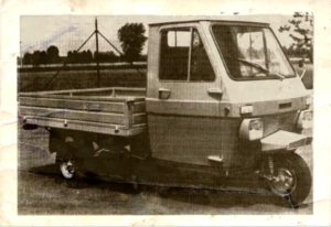 1970 Lambretta 600V car old photo