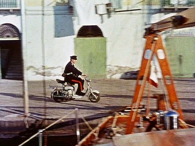 1959 Lambretta 125 D in Scampolo, Movie, 1958