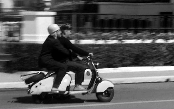 1950 Lambretta LD in Nous irons à Deauville, Movie, 1962 built in France
