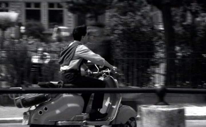 1956 Lambretta LD in La P... sentimentale, Movie, 1958